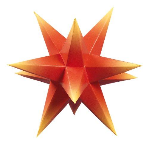 Unbekannt Saico AS5003/GS1 Marienberger Adventsstern, 3-Sterne-Set in rot/gelb