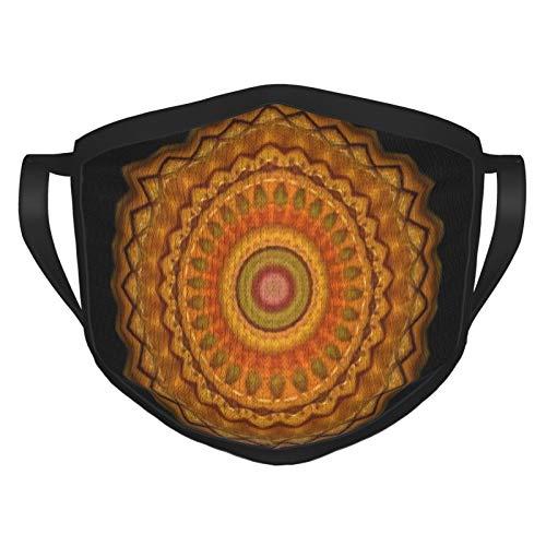 Kerst mondbeschermer Oranje Groen Ornament Gezichtsmaskers Wasbaar Herbruikbare Veiligheid Maskers Bescherming tegen Stof Pollen Huisdier Dander Andere Airborne