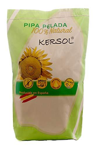5 Kg PIPA PELADA PANADERÍA SACO PAPEL- Pipas de girasol producidas y peladas en España - Crudas y sin sal. SIN GLUTEN