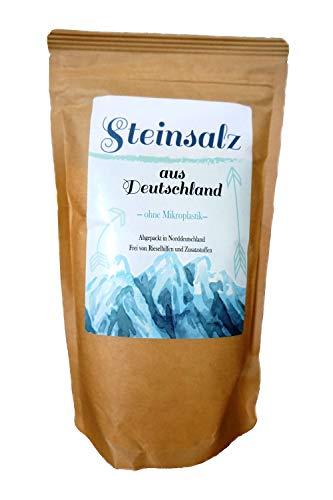 Kräuterladen Deutsches Steinsalz Naturbelassenes Salz, fein gemahlen, 1000 g