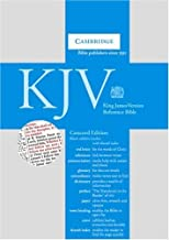 KJV Concord Reference Bible, Thumb-Indexed (Black Calfskin Leather)