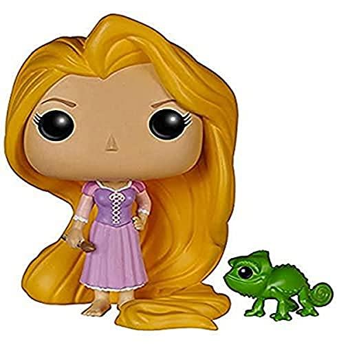 Funko- Pop Vinile Disney l'Intreccio della Torre Personaggio Rapunzel con Pascal, 5135