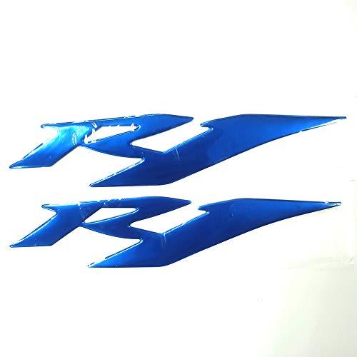 Blue 3D Logo Emblem Sticker Decal Polish Gloss Raise Up Compatible...