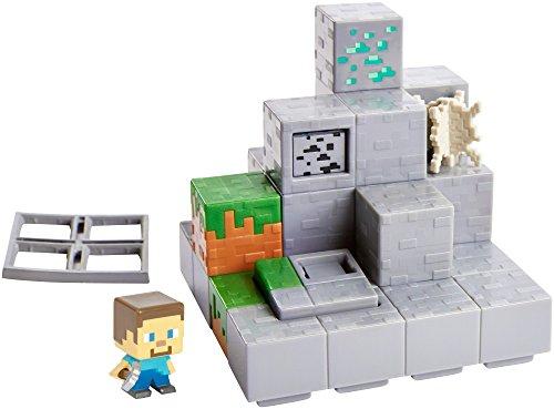 Minecraft Mini Figure Mining Mountain Environment Set