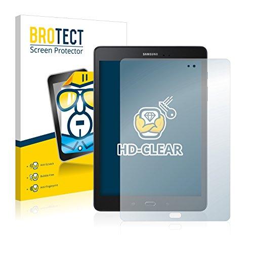 BROTECT Schutzfolie kompatibel mit Samsung Galaxy Tab A 9.7 2017 (2 Stück) klare Bildschirmschutz-Folie
