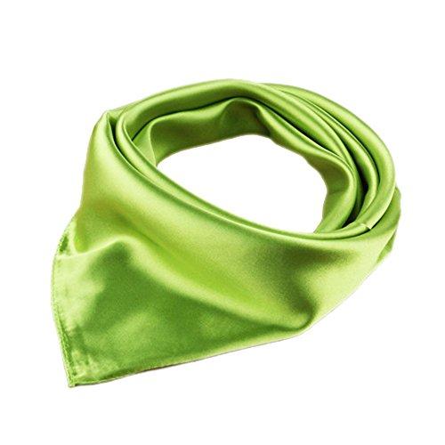 Krankenschwester/Koch Halstuch Kopfschal Halsschal einfarbig (Grün)