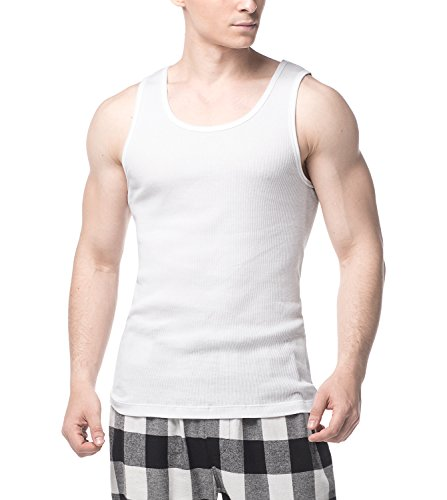 LAPASA Pack 4 Camisetas Tirantes Deportivas Hombre