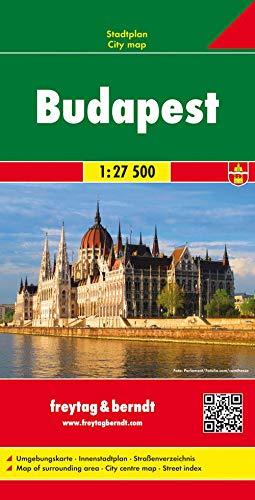 Budapest, Stadtplan 1:27.500