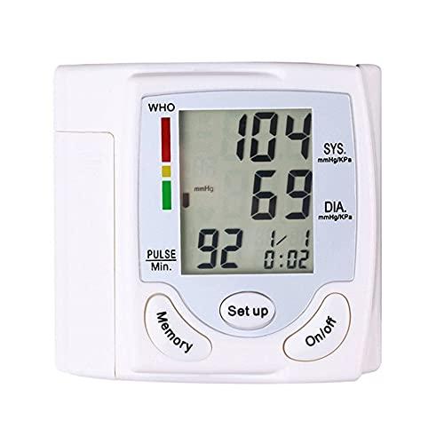 HJBH Monitor Electrónico De Presión Arterial, Máquina De Presión Arterial Digital Automática Precisa para Uso Doméstico Y Medidor De Monitoreo De Frecuencia De Pulso con Brazalete.
