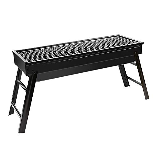 N\A ZGGYA Portable Barbecue Grill Folding BBQ Grill,Charcoal Grill,Small Barbecue Grill,Outdoor Grill Tools For Camping Hiking Picnics Traveling 24''x13''x9''