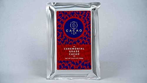 Cacao Lab - Cacao Ceremonial 100% puro para rituales, ceremonias y prácticas (1 kg)