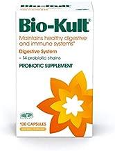 Bio-Kult Advanced Probiotics -14 Strains, Probiotic Supplement, Probiotics for Adults, Lactobacillus Acidophilus, No Need for Refrigeration, Non-GMO, Gluten Free -Capsules,120 Count (Pack of 1)