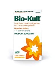 Bio-Kult contains 14 probiotic strains to complement the existing gut flora naturally present in a healthy person's digestive system Microorganisms present in the intestine, collectively called the gut microbiota, are essential to our health Includes ...