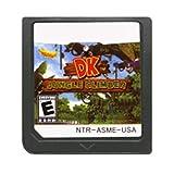 Qinqin Consola de cartucho de juego superior nosotros Versión Diddy Kong Racing Dk Escalador de selva Tarjeta de memoria English Fit for Nintendo DS 3DS 2DS ZSQ ( Color : DK Jungle Climber US )