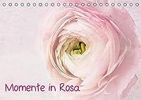 Momente in Rosa (Tischkalender 2022 DIN A5 quer): Alles in Rosa, Florales, Stillleben, Meditation...Wellness fuer die Seele (Monatskalender, 14 Seiten )
