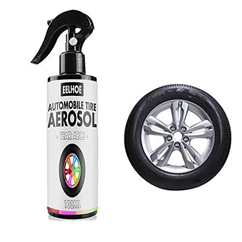 Kit de rueda de pulverización de goma para neumáticos, ruedas y llantas