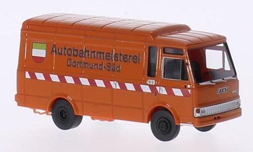 Fiat Zeta Kasten, Autobahnmeisterei Dortmund, 0, Modellauto, Fertigmodell, Brekina 1:87