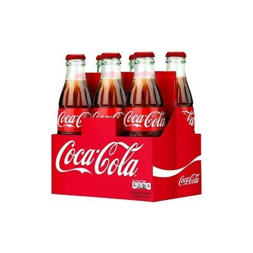 f808c420a Coca-Cola Classic 8oz Glass Bottles 4-6 Packs (24 Bottles) Coke