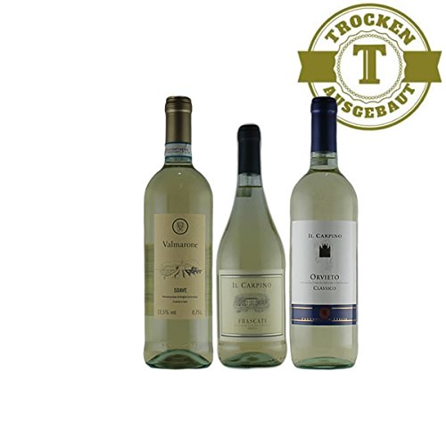 Weißwein Probierpaket mini1 Italien trocken (3x0,75l)
