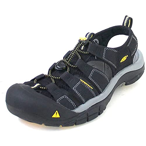 Keen Men's Newport H2 Sandal,Black,11 M US