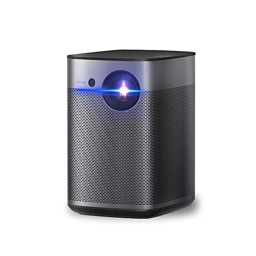 XGIMI Halo Plus 輝度最強ポータブルプロジェクター PSE認証 800ANSIルーメン 1080Pリアル解像度Android TV9.0搭載 モバイルプロジェクター プロジェクター小型 天井 オートフォーカス 2K/4K対応 Harman/Kardonスピーカー Wi-Fi/Bluetooth iPhone 接続可能