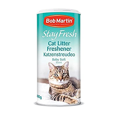 Bob Martin Stay Fresh Cat Litter Freshener Baby Soft Scent, 400g