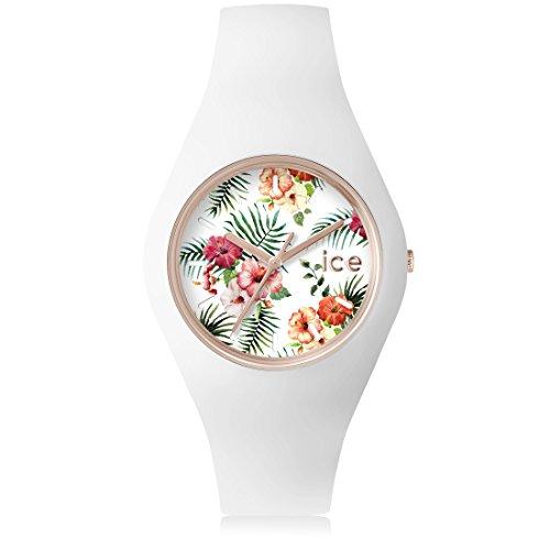 Ice-Watch - ICE flower Legend - Montre blanche pour femme avec bracelet en...