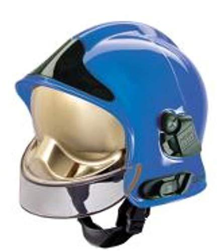 Firefighter F1XF - Casco de ciclismo, color azul