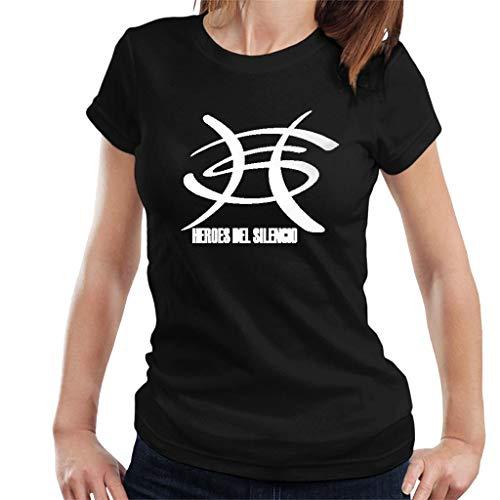 DIANXIAOERR Mujer Heroes del Silencio Logo 1 Easy Short Sleeved Camiseta/T-Shirt Large