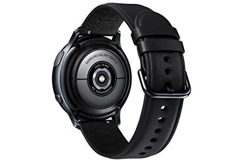 Samsung Galaxy Watch Active 2 - Smartwatch de Acero, 40mm, color Negro, LTE [Versión española] miniatura