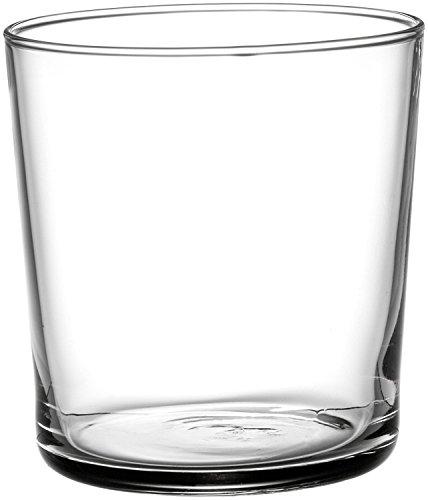 Bormioli Rocco Bodega Set 12 Bicchieri in Vetro, Trasparente