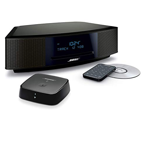 Bose Wave Music System IV Bundle with Bluetooth Soundtouch Wireless Adapter- Espresso Black