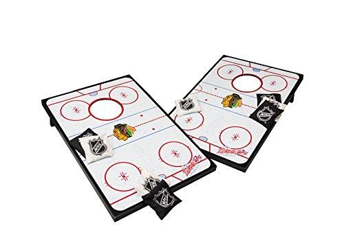 Wild Sports NHL Hockey-Wurfspiel, 60 x 90 cm, Damen Unisex-Erwachsene Herren, Chicago Blackhawks, 36
