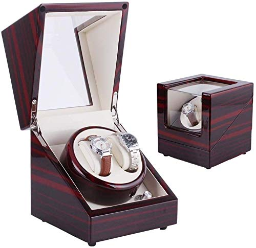 Hzjundasi Watch Winders Automatic Watch Winder Watches Double Box Battery...