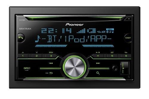 Preisvergleich Produktbild VW Pioneer FH-X730BT Doppel-DIN Radio mit Bluetooth / USB / iPod Steuerung - PIFHX730BT