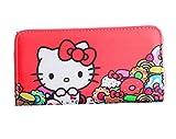 Kerr's Choice Card Holder Wallet Hello Kitty Purse PU Hello Kitty Clutch Sanrio Wallet Kawaii Wallet