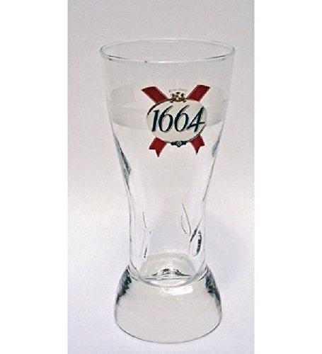 6 verres à bières 1664 33 cl