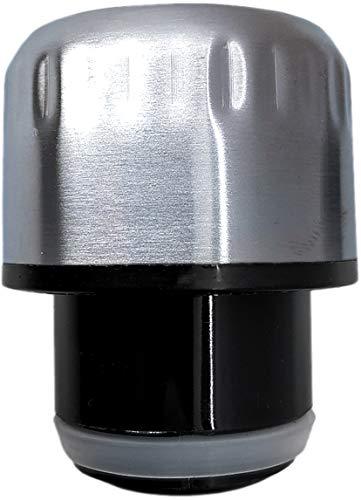 NERTHUS 629 FIH-Tapon Color Acero, Inoxidable 18/41, Compatible con Botellas de 350 ml y 500 ml