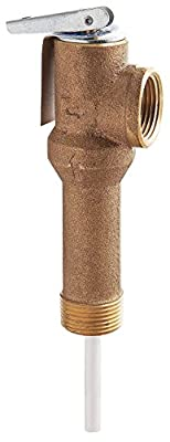 T and P Relief Valve, 3/4 In. Outlet by WATTS