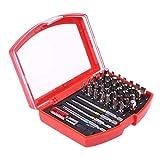 BOLIXIN Hardware41pcs/set Juego de puntas de destornilladores multiusos Mini llave de rueda de trinquete Llave inglesa Kit de herramientas manuales de reparación de electrodomésticos,45185,4