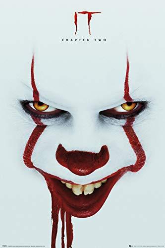 ES Kapitel 2 - Face Unisex Poster Multicolor Papier 61 x 91,5 cm Fan-Merch, Film, Horror