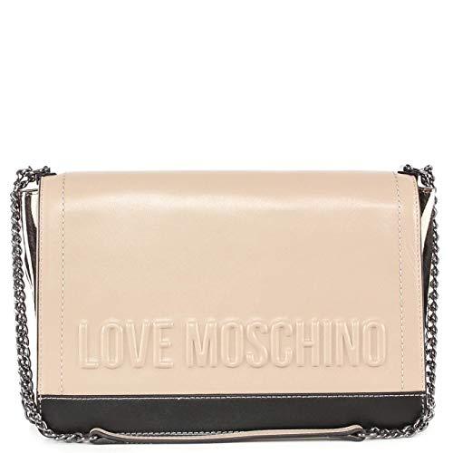 Love Moschino Borsa Vitello. Tortora nero+Cav. Zebra (JC4136PP16LX110A)