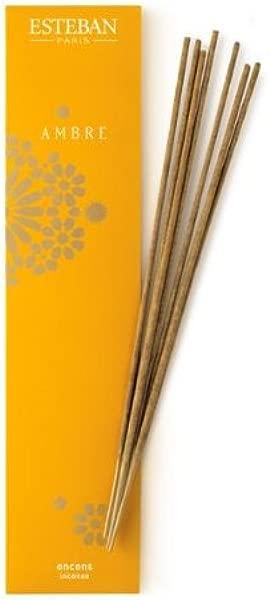 Esteban Ambre Bamboo Stick Incense 20 Incense Sticks