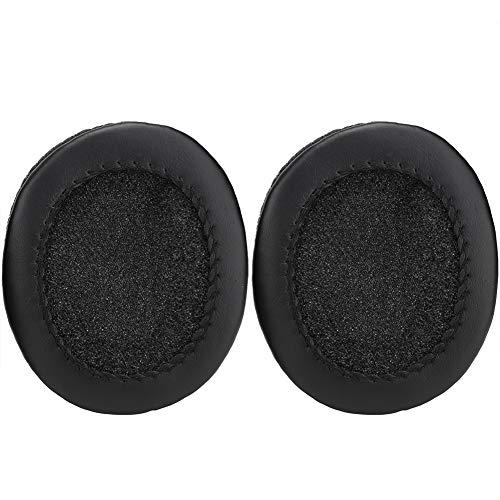 Socobeta - Auriculares portátiles con cancelación de ruido y almohadillas de repuesto para auriculares de protección suave y cómodo, resistentes compatibles con MDR-7506 MDR-V6 MDR-CD 900ST