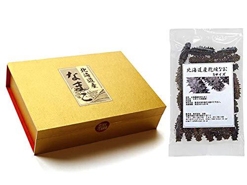 乾燥ナマコ特A級品Sサイズ100g(化粧箱入り)1本4g前後(特Aランク)北海道産乾燥なまこ 金ん子(中華高級食材)干し海鼠!北海キンコ 海参!