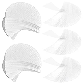 obmwang 150 Pieces Eyeshadow Pads Eyeshadow Stencils under Makeup Protection Pads Professional Makeup Protection Tool for Eyelash Extensions Lip Makeup