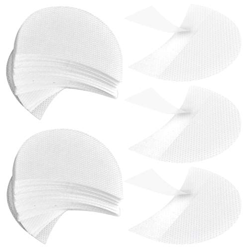 obmwang Eyeshadow Shields 150 Pieces, Eyeshadow Pads, Eyeshadow Stencils, under Makeup Protection Pads, Professional Makeup Protection Tool for Eyelash Extensions, Lip Makeup