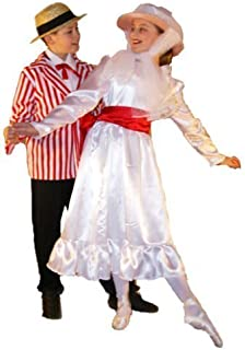 Victorian-Stage-Musical-Dance-World Book Day-Poppins Jolly Holiday Child's Fancy Dress Costume - All Ages
