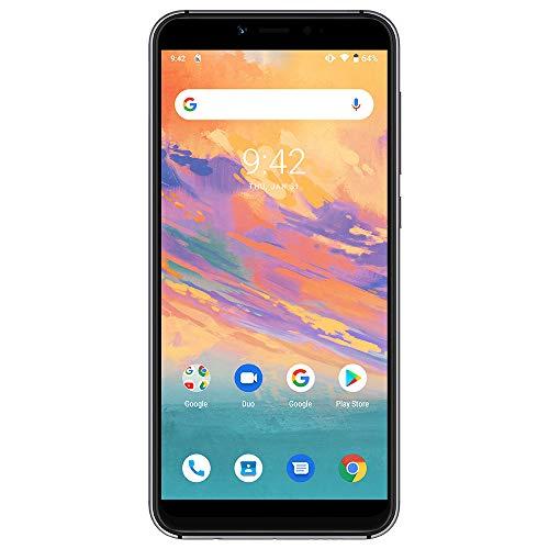 UMIDIGI A3S SIMフリースマートフォン Android 10 HD+ 5.5インチ ディスプレイ 2 + 1カードスロット 16MP+5MPデュアルカメラ 13MPインカメラ グローバルLTEバンド対応 両面2.5D曲線ガラス 2GB RAM + 16GB ROM (256GBまでサポートする) 顔認証 指紋認証 技適認証済 au不可「ミッドナイトグリーン」