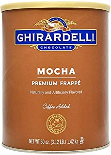 Ghirardelli Mocha Frappe, 3.12 Pound (B00D6Q9E3E) | Amazon price tracker / tracking, Amazon price history charts, Amazon price watches, Amazon price drop alerts